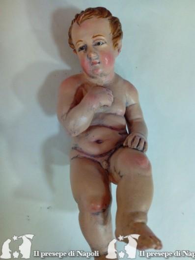 Bambino Gesù (per pastori cm 35-38))