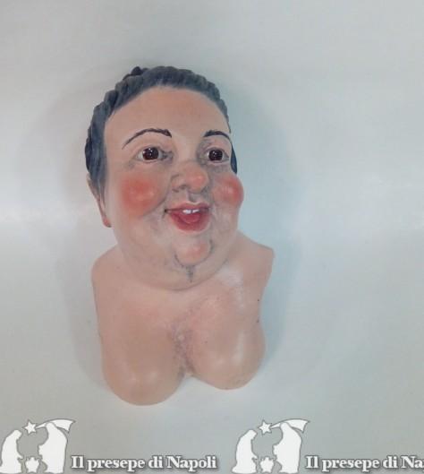 Donna grassa(kit testa mani e piedi)