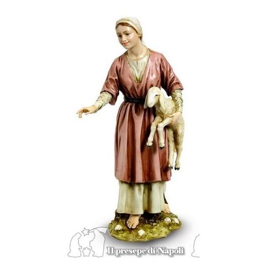 Donna con agnello
