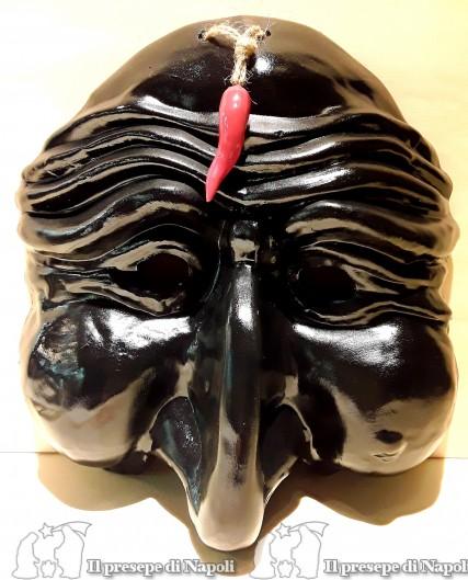 Maschera gigante nera