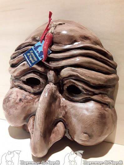 Maschera gigante marrone