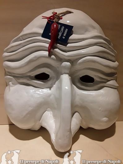 maschera gigante bianca