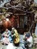 Scena presepiale completa di Natività e personaggi cm 14 (pezzo unico)