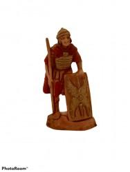 Soldato con lancia e scudo
