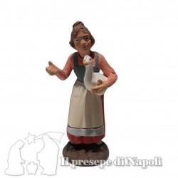 donna con oca
