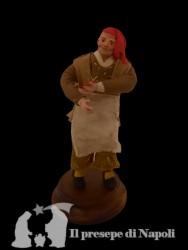 uomo con grembiule