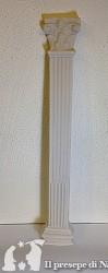Colonna piatta di resina cm30