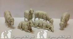 Kit di pecore 6 pezzi