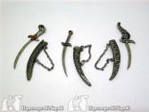 Kit spade per personaggi cm 18-25