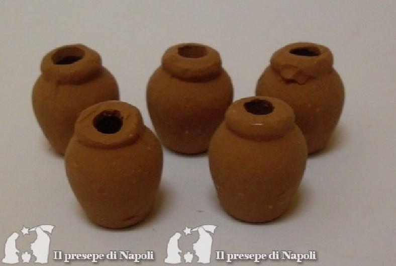 vasi di terracotta cadauno