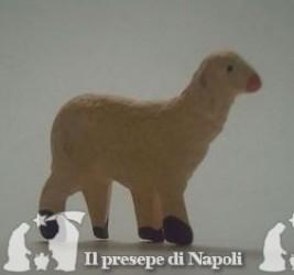 pecora con testa alzata per pastore cm 6