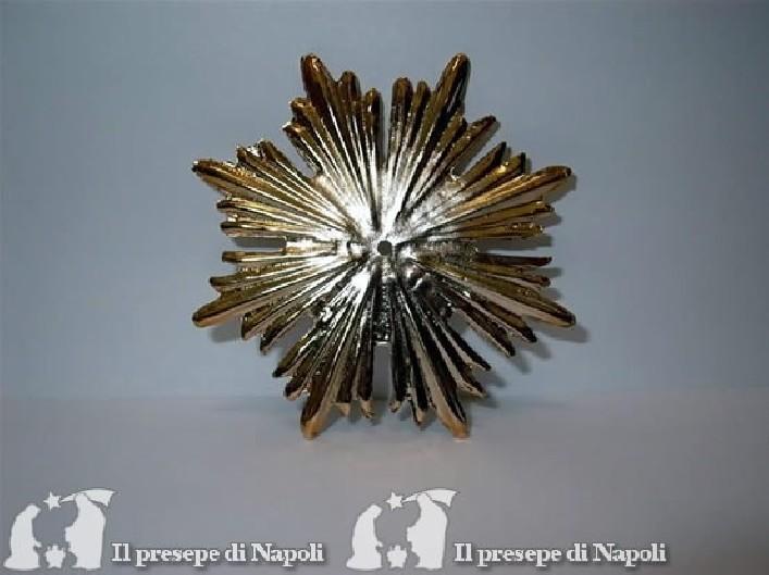 Raggiera grande color oro diametro cm 9