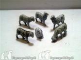 kit 6 pecore