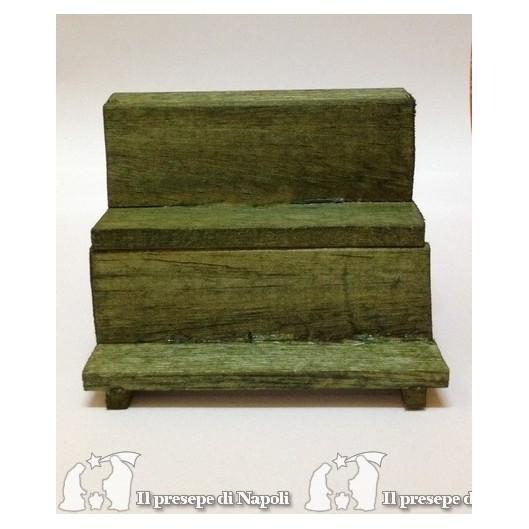 Banchetto vuoto verde