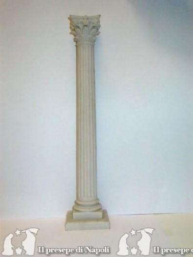 Colonna rigata resina cm 40