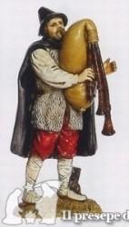uomo con zampogne